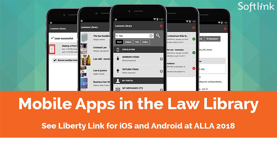 Mobile apps in the law library