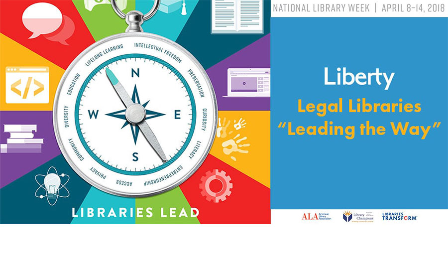 Liberty Legal Library customers celebrate National Library Week