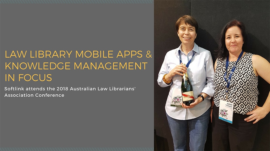 Law library apps and knowledge management in focus at ALLA 2018