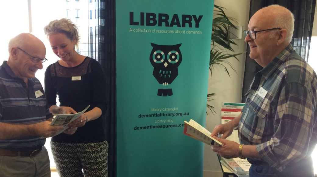 Guest post: Getting creative with library outreach at Alzheimer's Australia