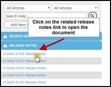 Liberty Release Notes Screenshot
